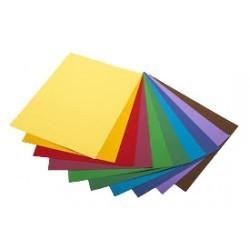 pochette de 20f papier couleur apli a4 80g/m² coloris au choix PACO0024 ybureau