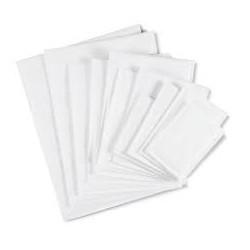 Pochette unipapel autodex (260x330) mm 100g blanc superieur|POCBL005|ybureau
