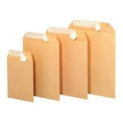 Pochette kraft écru unipapel 70g format (130x180) mm (pour paie)|POCKR002|ybureau
