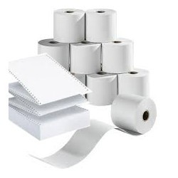 Rouleaux de papier thermique duvrai pour fax 216 mmx50 m|LIELX006|ybureau