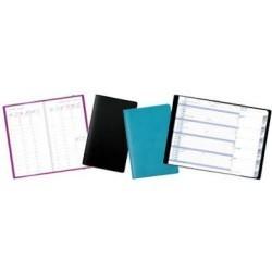 Agenda semainier 21x27 avec couverture bi-couleur en similicuir|AGCA013|ybureau