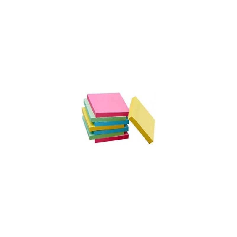 Blocs Notes repositionnables apli-Notes 51x51 mm 250 feuilles flueuriscent NORE037 ybureau
