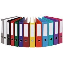 Classeur à levier couleur rainbow esselte dos 80 mm format A3|CLLE004|ybureau