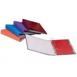 Classeur carton rigide alpha à 2 anneaux dos 4 cm|CLAN018|ybureau