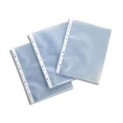Paquet de 100 pochettes perforées alpha A4 60 microns|POPE007|ybureau
