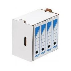Boite d'archive couleur en carton ocean dos 80 mm a4|BOAR010|ybureau
