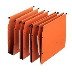 Dossier suspendus kraft orange sicla tube 25|DOSU008|ybureau
