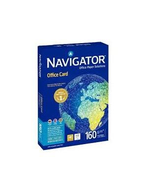Ramettes papier blanc navigator a3 160g/m² 250 feuilles|PAPL0027|ybureau