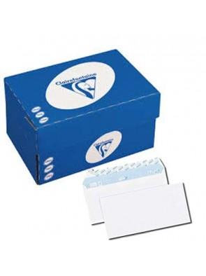boite de Enveloppe blanches clairalfa 162x229 mm 90g/M2 sans fenêtre|ENVKR026|ybureau