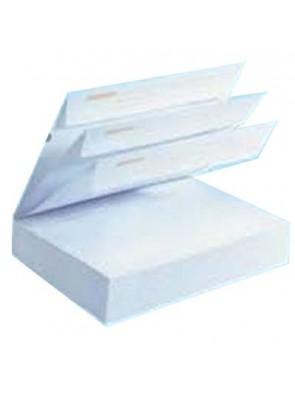 Carnet de 50 Enveloppe blanches détachables la couronne 110x220 mm 90g/M2 sans fenêtre|ENVBL019|ybureau