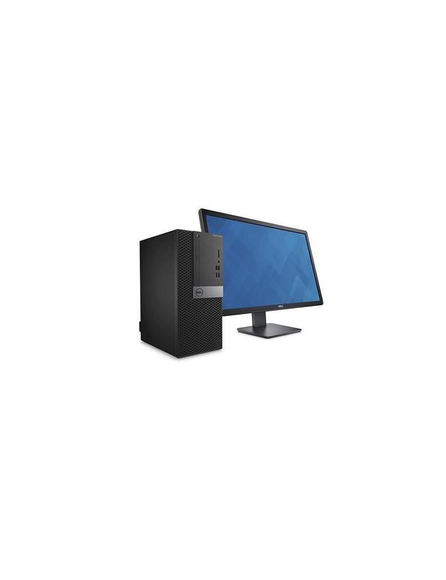 Unité centrale Dell OptiPlex 3060 SFF i3-8100 4GB 500GB Win10Pro + Ecran DELL E1916