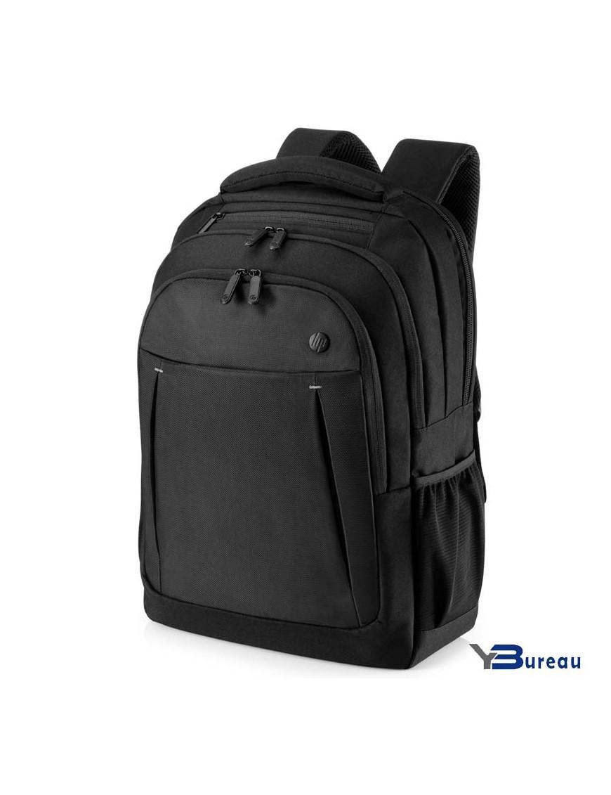 2SC67AA Y BUREAU Materiel informatique Maroc sacoche pour ordinateur portable Business Backpack HP taille allant jusqu'à 17,3