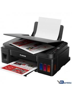 2315C025AA y bureau ybureau.ma materiel d'impression Imprimantes multifonctions couleurs rechargeable Canon PIXMA G3411